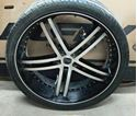 """Picture of STATUS 24"""" RIMS AND WHEELS"""