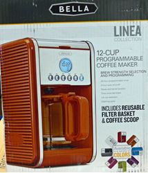 Picture of BELLA LINEA 14115 COFFEE MAKER ORANGE