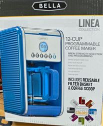 Picture of BELLA LINEA 14116 COFFEE MAKER BLUE