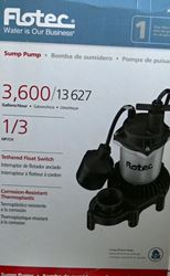 Picture of FLOTEC FPZS33T 1/3 HP SUMP PUMP
