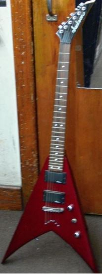 Picture of JACKSON FLYING V WITH JACKSON PICK UPS
