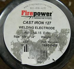 Picture of FIREPOWER WELDING ELECTRODE