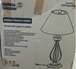 Picture of ENDLESS SUMMER EWTS9151M OUTDOOR TABLETOP PATIO ELECTRIC HEATER