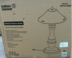 Picture of ENDLESS SUMMER EWTR720SP OUTDOOR TABLETOP ELECTRIC HEATER