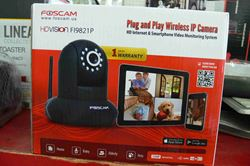 Picture of FOSCAM FI9821P WIRELESS INDOOR PLUG & PLAY IP VIDEO CAMERA 720P BLACK