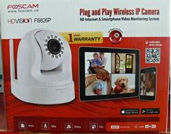 Picture of FOSCAM FI9826P PLUG & PLAY INDOOR WIRELESS IP VIDEO CAMERA 960P