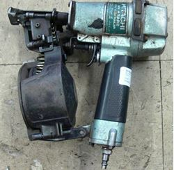 """Picture of HITACHI NV45AB2 1 3/4"""" COIL ROOFING NAILER"""