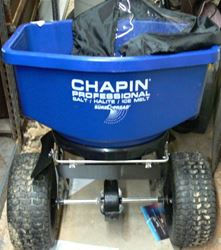 Picture of CHAPIN PROFESSIONAL BROADCAST SPREADER SALT/HALITE/ICE MELT