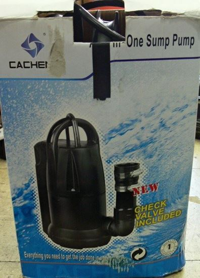 Picture of CACHENG CSP-407P SUBMERSIBLE SUMP PUMP FOR CLEAN WATER