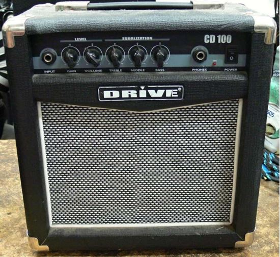 Picture of DRIVE CD100 BASS PRACTICE AMP