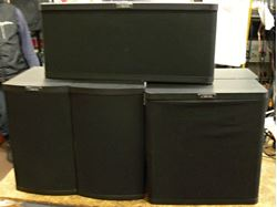 Picture of CARVER 5 SURROUND SOUND SPEAKERS