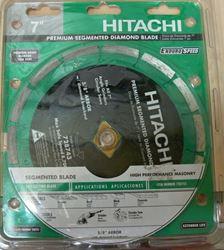 "Picture of HITACHI 7"" PREMIUM SEGMENTED DIAMOND BLADE 728743"