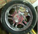Picture of 4 RADD RIMS AND TIRES 245 45 7R17