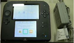 Picture of NINTENDO RED 2DS FTR-001 W/ CHARGER AND STYLUS