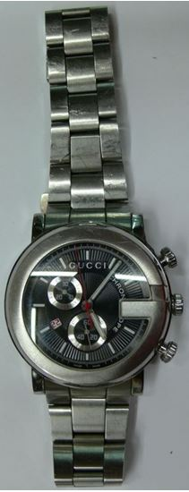 Picture of GUCCI 101M CHRONOSCOPE STAINLESS STEEL 96.1 WATCH