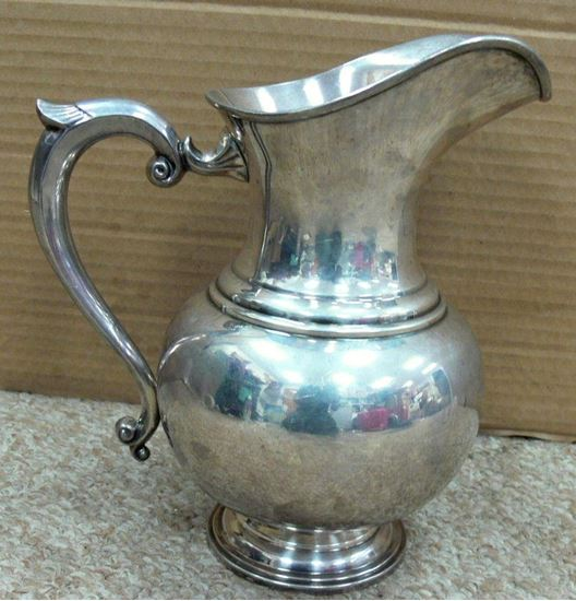 Picture of STERLING SILVER WATER PITCHER 32.17 OZ ELLMORE SILVER CO.