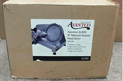 "Picture of AVANTCO SL309 9"" MANUAL GRAVITY FEED SLICER- 1/4 HP"