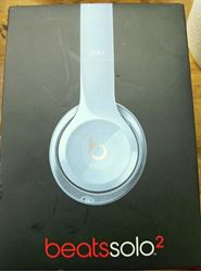 Picture of BEATS B0518 SOLO 2 ON-EAR LIGHTWEIGHT HEADPHONES GLOSS GREY