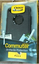 Picture of OTTERBOX IPHONE 6 BLACK COMMUTER SERIES