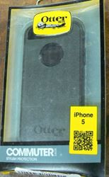 Picture of OTTERBOX IPHONE 5 BLACK COMMUTER SERIES