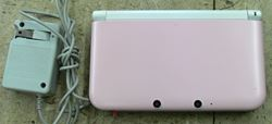 Picture of NINTENDO 3DS XL SPR-001 W/ CHARGER & STYLUS PINK