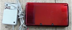 Picture of NINTENDO 3DS CTR-001 RED W/ CHARGER & STYLUS