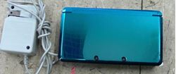 Picture of NINTENDO 3DS CTR-001 BLUE W/ CHARGER & STYLUS