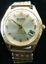 Picture of BULOVA VINTAGE 23 JEWELS GOLD PLATE AUTOMATIC WATCH