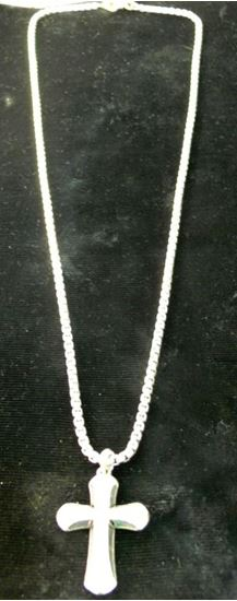 Picture of DAVID YURMAN CROSS DIAMOND PENDANT AND CHAIN
