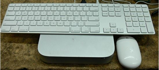 Picture of APPLE A1347 MAC MINI I7 W/ KEYBOARD, MOUSE, & POWER CORD