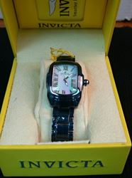 Picture of INVICTA 14851 CERAMICS BABY LUPAH QUARTZ MOTHER-OF-PEARL WATCH