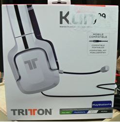 Picture of TRITTON KUNAI STEREO HEADSET FOR SONY PS4/COMPATIBLE WITH OTHERS