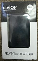 Picture of D VICE 6600MAH RECHARGEABLE POWER BANK