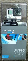 Picture of GOPRO HERO 4 SILVER ACTION CAMERA HWBD1