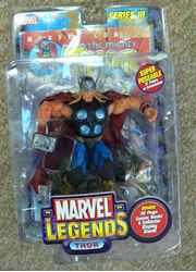 Picture of MARVEL SERIES III THOR FIGURINE ACTION FIGURE TOY 70159