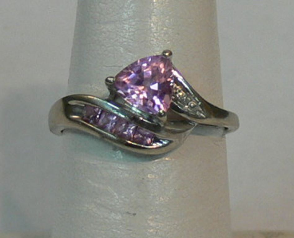 rings pink silver birthstone stone ring october tourmaline products wide
