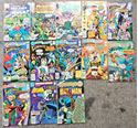 Picture of 25 ASSORTED COMIC BOOKS FANTASTIC FOUR BATMAN SUPERMAN AVENGERS DR.DOOM
