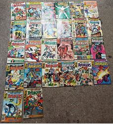 Picture of 25 AVENGERS COMIC BOOKS