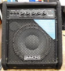 Picture of SIMMONS DA50 DRUM AMPLIFIER