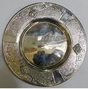 "Picture of HAZORFIM STERLING SILVER SMALL GRAPE PLATE 6.25"" 92.5G"