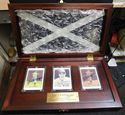 Picture of JOE DIMAGGIO AUTOGRAPHED ESTATE PORCELAIN CARD SET
