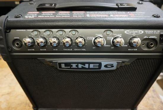 Picture of Line 6 spider III 15 Amplifier 15 watts guitar amplifier