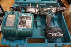 Picture of Makita Concrete Cordless Hammer Drill XPH03 WITH 2 BATTERIES , CHARGER