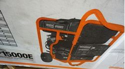 Picture of Generac Portable Generator model # GP15000E