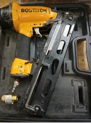 Picture of Bostitch Nail Gun with case model #N62FN