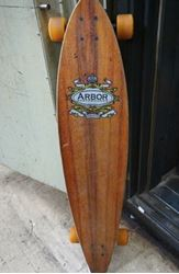 Picture of Arbor Fish Longboard Skateboard Trees 46 Inch R12