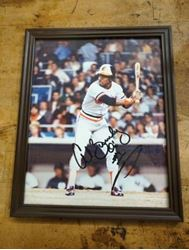 Picture of Al Bumbry Signed Autographed framed picture FREE SHIPPING BEST OFFER