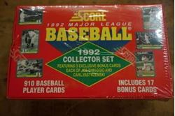 Picture of SCORE-1992-MAJOR-LEAGUE-BASEBALL-COLLECTOR-SET-NEW-SEALED-910-CARDS-PRISTINE