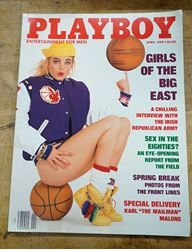 Picture of Playboy Magazine | April 1989 | Girls of the Big East