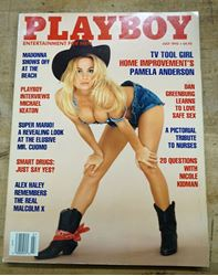 Picture of Playboy July 1992 Pamela Anderson Tv Tool Girl